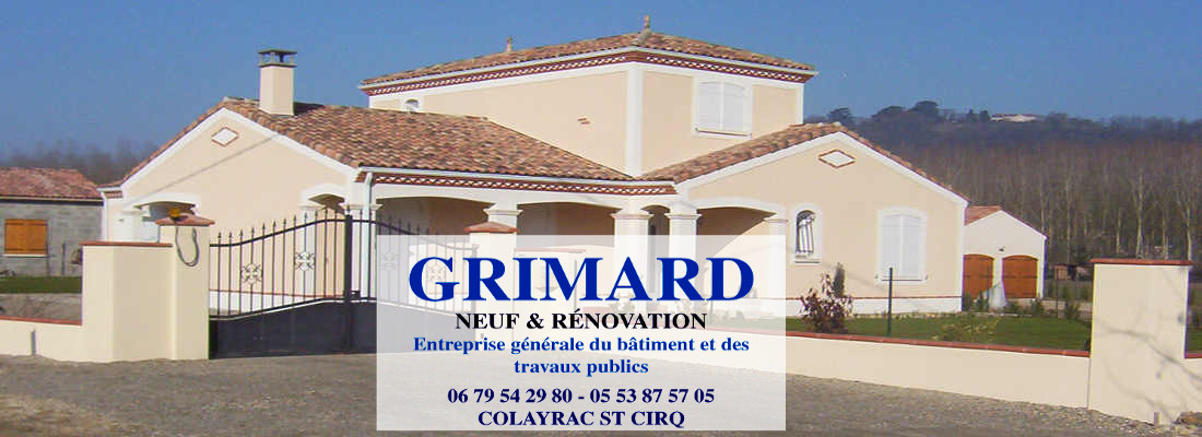 Grimard construction Agen